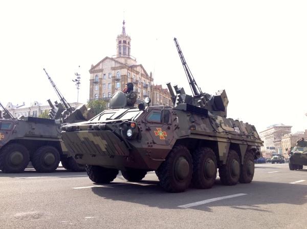 Ukrainian Independence Day Parade (Francesca Ebel)