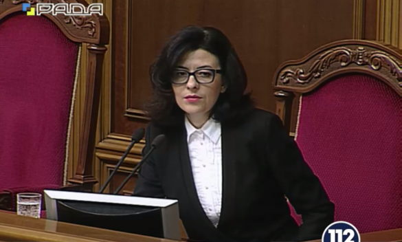Oksana Syroyid has been elected as the first female Deputy Speaker in the history of Ukraine